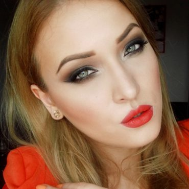 smoky-brown-makeup-orange-lips-6