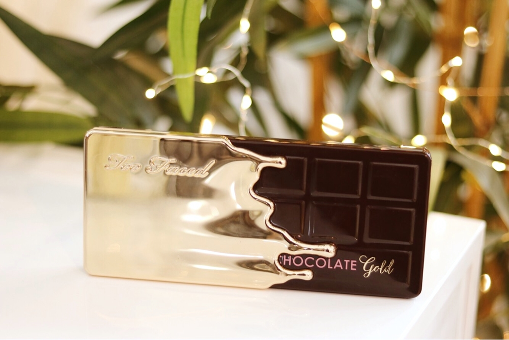 Review paleta Too Faced Chocolate Gold