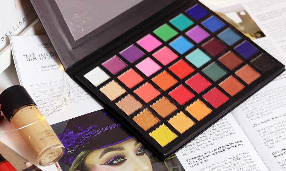 sample beauty the paradigm shift palette review special koko