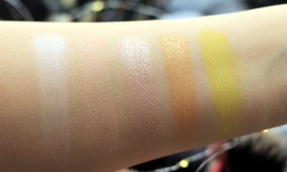 sample beauty the paradigm shift palette swatches special koko